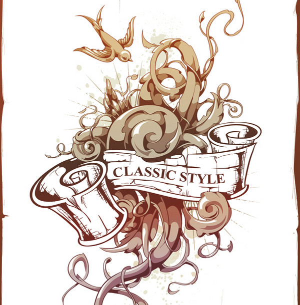 create an abstract tattoo design in adobe illustrator. Black Bedroom Furniture Sets. Home Design Ideas
