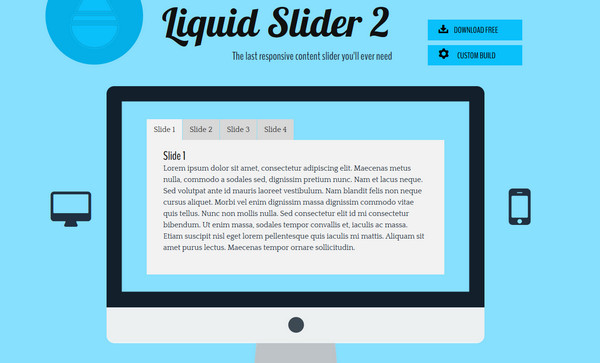 Liquid Slider