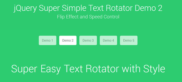 Super Simple Text Rotator
