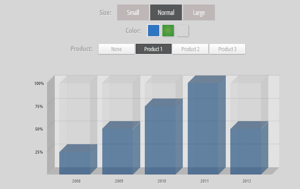 Jquery infographic animation