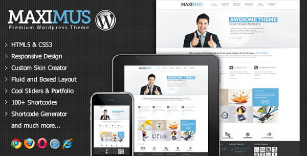 Maximus - Responsive Multi-Purpose WordPress Theme
