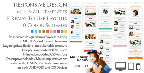 New Responsive HTML Newsletter Email Templates – eWebDesign