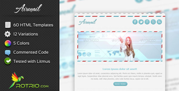 AirMail - Newsletter & Marketing Email Template