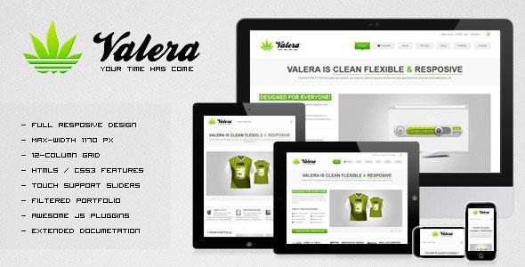 VALERA - Responsive HTML Template