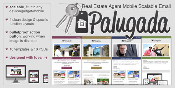 Palugada - Real Estate Agent Mobile Scalable Email