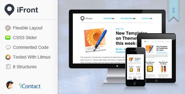 iFront – Webshop Newsletter