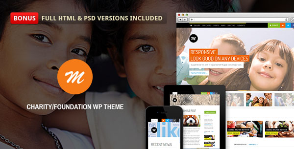 Mission - Responsive WP Theme For Charity