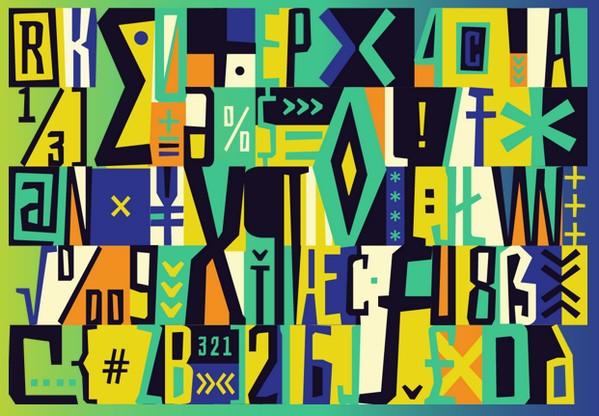 Bahiana free font by Daniela Raskovsky