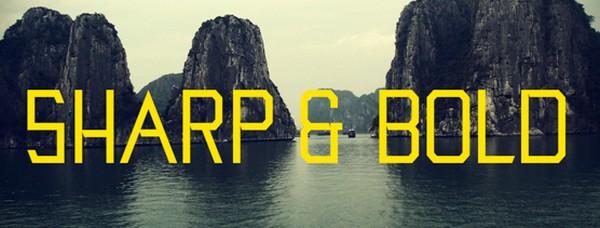 Hanoi Typeface by Alex Dale