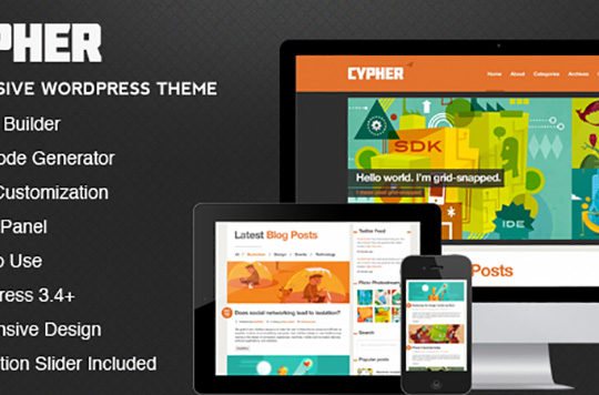New Premium WordPress Themes, 2013 Edition