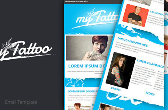 New Responsive HTML Newsletter Email Templates