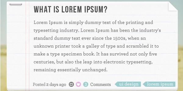 Notebook blog post PSD design
