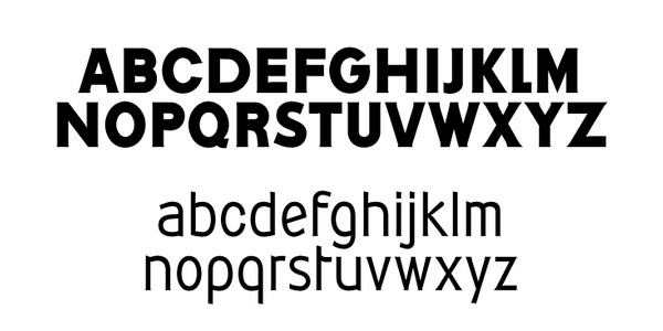 Corporata inspiration font