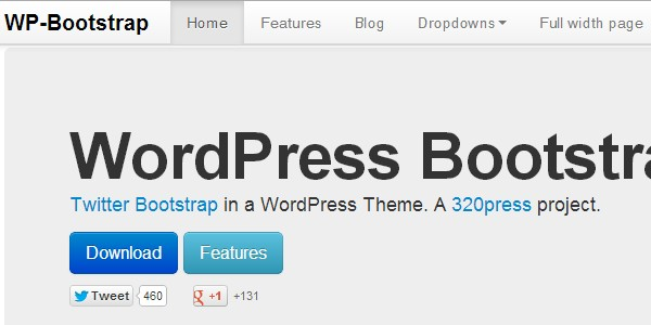 WP-bootstrap theme creator