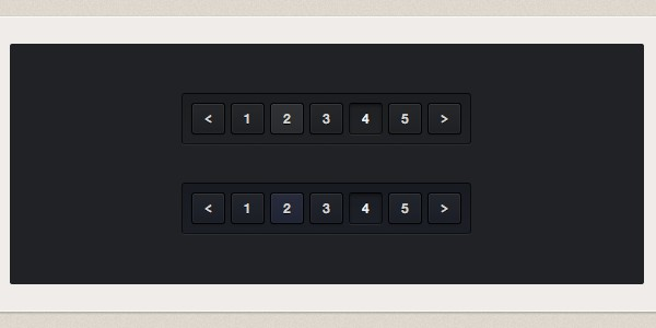 code based dark pagination