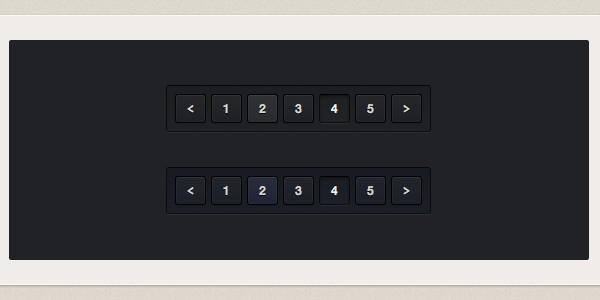 code based dark pagination