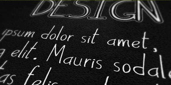 Shock handwritten font