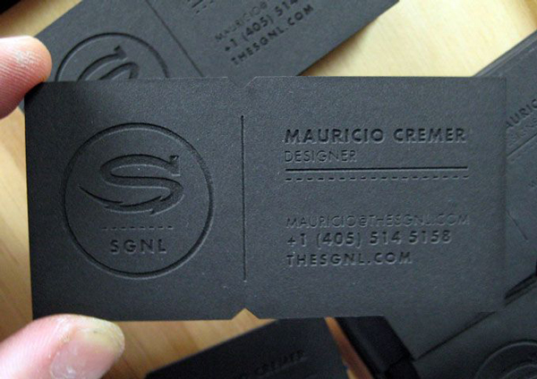 Inspiring business cards showcase creative examples ewebdesign this business card although it is made out of leather feels like paper everything made out of a different material than paper but used as something colourmoves