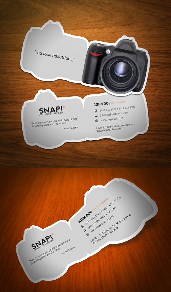 Inspiring business cards showcase creative examples ewebdesign snap reheart Images