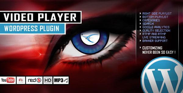 Video Player WordPress Plugin - YouTube/FLV/H264