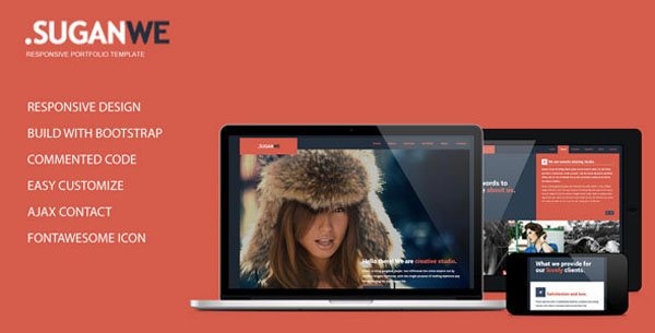 Suganwe - Responsive One Page Template HTML5