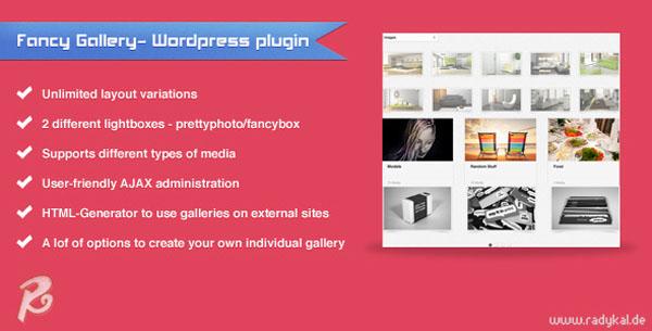 Fancy Gallery - WordPress plugin