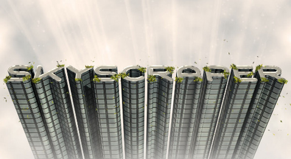 3D Skyscraper Text Effect – Updated for Photoshop CS6
