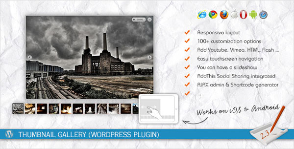 Thumbnail Gallery (WordPress Plugin)