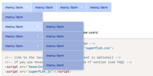 Free jQuery and CSS3 Dropdown Menus for Websites – eWebDesign