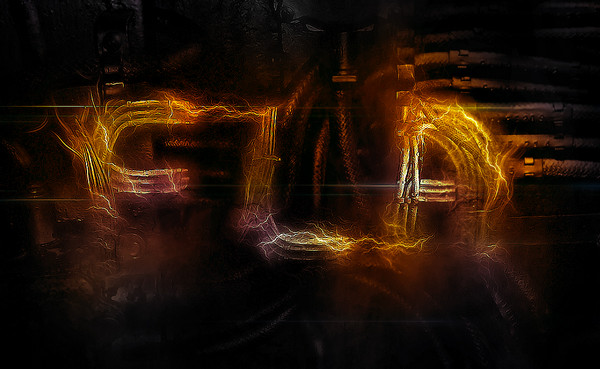 Create Electrified Metal Text Effect in Photoshop