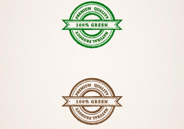 Create a Grungy Web Badge