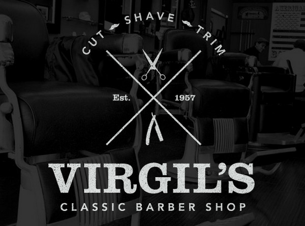 Create a Trendy Vintage Style Barber Logo in Illustrator