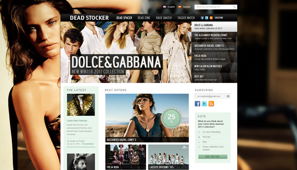 Creative Free Psd Templates To Download Ewebdesign