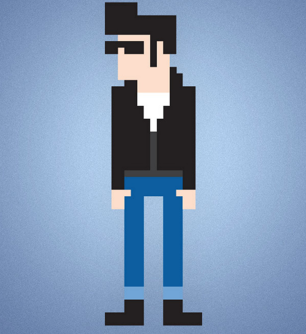 How To Create an 8-Bit Pixel Character in Illustrato