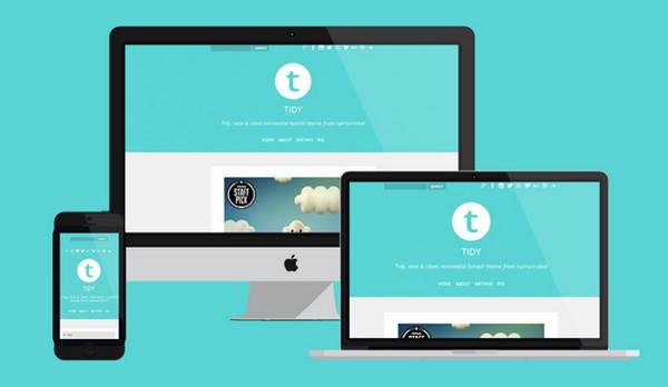 Tidy Tumblr Theme by Tarah S