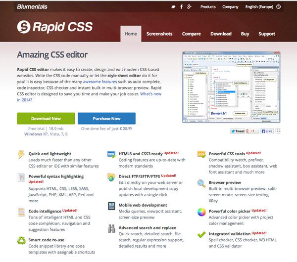 Rapid CSS