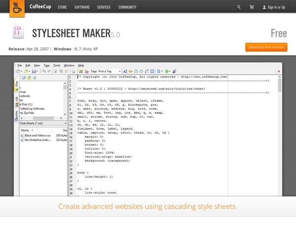 Stylesheet Maker