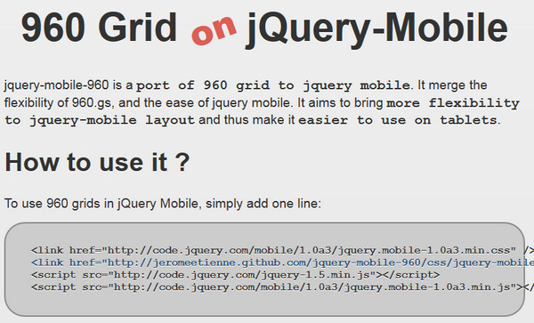Free Helpful jQuery Mobile Components – eWebDesign