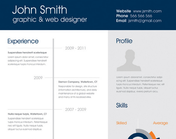 Clean One Page Resume By Atma  Single Page Resume