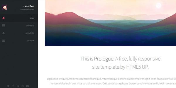 Fresh Collection of Free Website HTML Templates – eWebDesign