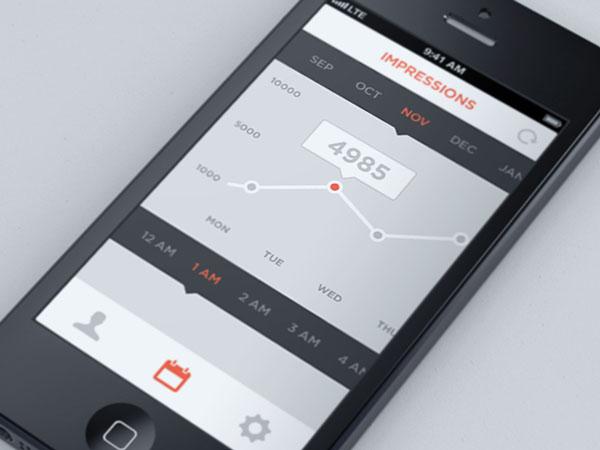 Showcase of flat apps design examples ewebdesign for Good room design apps