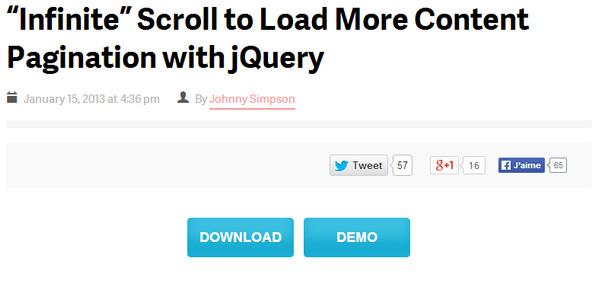 List of Free jQuery Pagination Plugins – eWebDesign