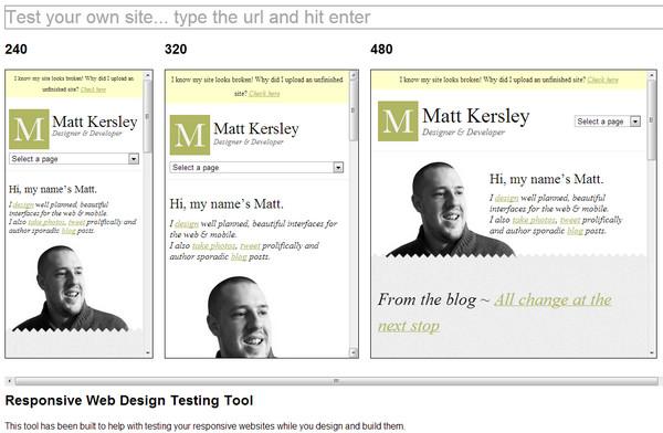 Free Online Responsive Design Testing Tools - eWebDesign