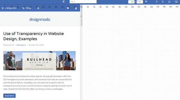 Free Online Responsive Design Testing Tools Ewebdesign