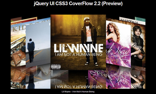 jQuery UI CoverFlow 2.0
