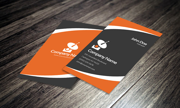 13 good to go free business cards templates ewebdesign creative corporate business card this one also comes in a quite nice style and you can combine different colors here as well most likely two complementary reheart Images