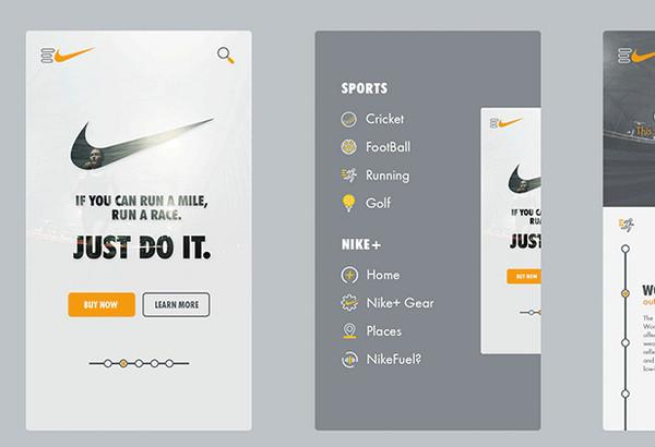 Nike App Design By Kenil Bhavsar
