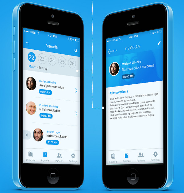 Simple Coloring In Mobile App Designs Best Practice