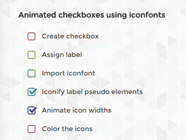 Prettify Binary Choice Free Solutions for Checkboxes and Radiobuttons