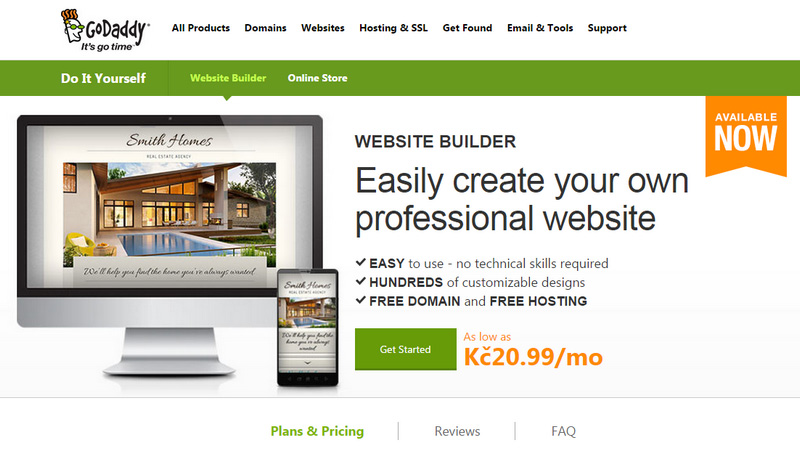How to build a site easily with these website builders ewebdesign godaddy builder solutioingenieria Choice Image